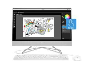 "HP 24-DP0160 - 23.8"" Touchscreen - Ryzen 5 4500U - 12 GB DDR4 - 512 GB SSD - Windows 10 Home - All-in-One"