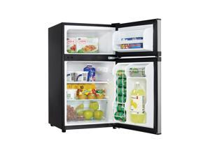 Danby  3.1 Cu.Ft. Stainless Two Door Compact Refrigerator
