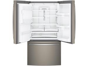 G.E.  27.8 Cu. Ft. Slate French-door Refrigerator