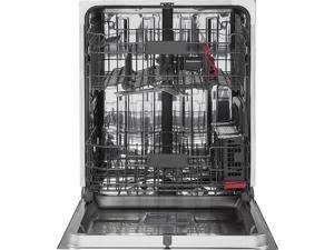 G.E. Profile  16 Place Setting Stainless Hidden Control Dishwasher