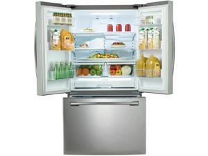 "Samsung  RF260BEAESR:  36""  Wide,  26  cu.ft.  French  Door  with  Filtered  Ice  Maker  (Stainless  Steel)"