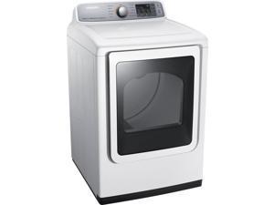 Samsung  7.4 Cu. Ft. White Electric Steam Dryer