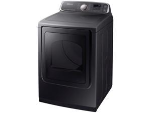 Samsung  7.4 Cu. Ft. Black Stainless Electric Steam Dryer