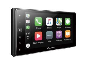 "Pioneer MVH-1400NEX Digital Multimedia Video Receiver with 6.2"" Capacitive Touchscreen Display, Apple CarPlay, Built-in Bluetooth, SiriusXM-Ready and AppRadio Mode +"