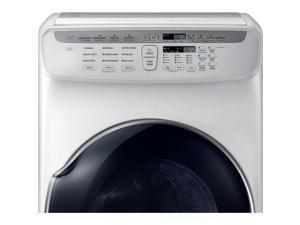 Samsung 7.5 Cu. Ft. White Electric Dryer with FlexDry