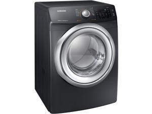 Samsung 7.5 Cu. Ft. Black Stainless Electric Dryer with Steam