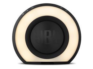 JBL Horizon Portable Wireless Speaker with Alarm Clock and FM Radio (Black)