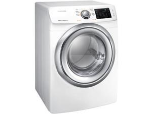 Samsung 7.5 Cu. Ft. White Electric Dryer with Steam