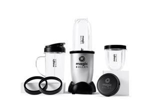 NutriBullet 1200 Watts Blender Combo with Single Serve Cups, Silver