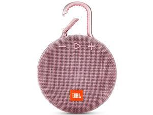 JBL Clip 3 Portable Bluetooth Waterproof Speaker (Pink)