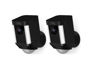 ring RINGSPOT2PKB Spotlight Cam Battery (2 Pack) - Black