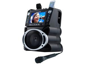 Karaoke USA GF840 DVD/CDG/MP3G Karaoke Machine with 7 inch Screen
