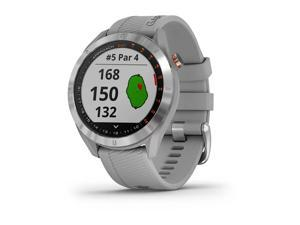 Garmin Approach S40, Stylish GPS Golf Smartwatch, Lightweight with Touchscreen Display, Gray/Stainless Steel (753759230135)