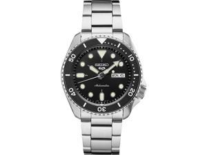 Seiko SRPD55 5 Sports 24-Jewel Automatic Watch - Stainless Steel