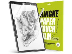 Ringke Paper Touch Film Hard Compatible with iPad Pro 11 (2021/2020/2018), iPad Air 4 Paper Textured Matte Hard Screen Protector - 2 Pack