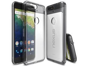 Ringke® [FUSION][SMOKE BLACK] Huawei Nexus 6P Case, Shock Absorption Hard Case