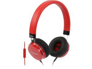 Philips SHL5305RD CitiScape Fixie Headphone with Mic On-Ear (Red)