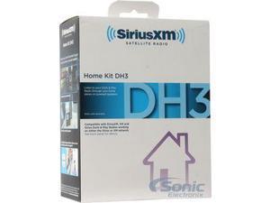 SiriusXM SXDH3 Sirius & SiriusXM Dock & Play Home Kit