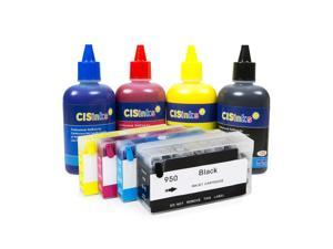 Cisinks ® Pre-Filled Continuous Ink Supply System for HP Officejet Pro 8600  series, 8100 series and others that use HP950 & HP951 CISS - Newegg com