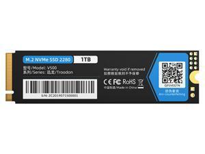 ORICO M.2 NVMe SSD 1TB PCIe Gen3. X4, NVMe 1.3 64L 3D NAND QLC Internal Solid State Drive 2280 for Desktop Laptop (V500)