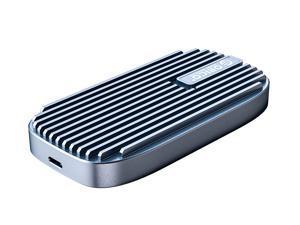 ORICO CN210 Type-C Mini Portable SSD 240GB, 520M/S External Solid State Drive M.2 SATA NGFF USB C External SSD Hard Drives