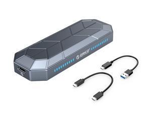 ORICO RGB External Portable SSD USB 3.1 Gen2 Type-C 1TB M.2 NVMe External Hard Drive SSD 512GB 256GB Solid State Drive (RV500)