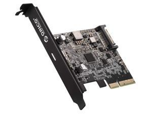 PCI-Express Type C Expansion Card, ORICO PCI-Express 4X to USB 3.1 Gen 2x2 (20 Gbps) for Windows 7/8/10/Linux/MAC OS, Compatible Slot: PCIe x4 (3.0), PCIe x8, PCIe x16