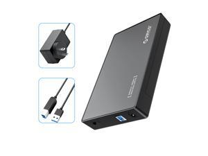 """ORICO External Hard Drive Enclosure, USB 3.0 SuperSpeed, for 3.5"""" SATA HDD and SSD  18TB Max Supported(3588US3)"""