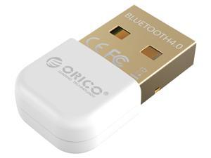 ORICO USB to Bluetooth 4.0 Portable Adapter Wireless Receiver Adapter Dongle -White