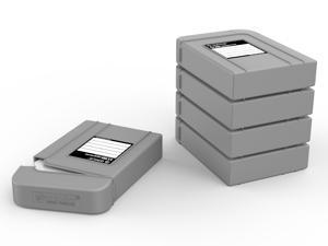 ORICO 5 Bay 3.5 inch Protective Box / Storage Case for Hard Drive(HDD) or SDD-Gray (PHI35-5S)