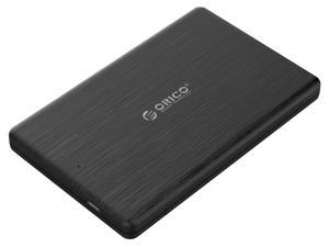 ORICO 2.5 inch USB3.1 Type-C HDD  External Hard Drive Disk Enclosure Case special for 7mm HDD SSD Enclosure Support Windows,Mac,Linux and more [ Support UASP SATA III ]