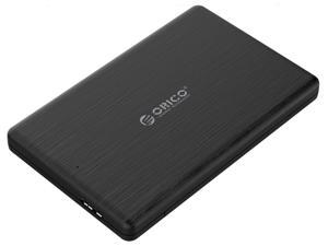 [ Support UASP SATA III ]ORICO 2.5 inch USB3.0to SATA HDD Case External Hard Drive Disk Enclosure for 7mm HDD SSD Enclosure Support Windows,Mac,Linux and more
