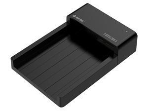 USB 3.0 bis 2.5 Zoll 3.5 Zoll SATA//IDE HDD Dockingstation Schwarz F/ür 2.53.5 IDE SATA I//II//III HDD SSD Dual-Bay Externe Festplatten Dockingstation HUB Reader