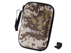 """ORICO PHB-25 Portable 2.5-Inch External Hard Drive Protect Bag Carrying Case Digital Storage Bag Travel Organizer Case For USB/Data Cable 2.5""""Hard Disk"""