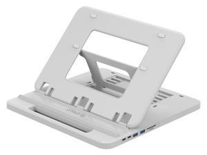 ORICO Laptop Holder USB-C to HDMI PD USB 3.0 HUB SD/TF Ports 7 Angles Adjustable Anti-skid Silicone Hollow Heat-dissipation