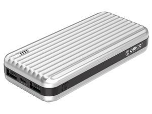 ORICO 20000mah Suitcase-style Power Bank 12W Dual Output Power Bank Charge for Mobile Phone Tablet With USB Cable