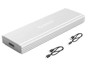 ORICO Aluminium  Nvme M.2 SSD Enclosure 10Gbps USB C Hard Drive Enclosure Support UASP Trim & Smart Sleep Function With C to C Cable