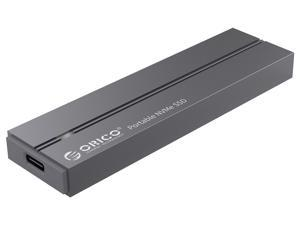 ORICO External NVME SSD Hard Drive 1TB SSD 128GB 256GB 512GB NVME Portable Solid State Drive with Type C USB 3.1 Gen-2 (10Gb/s) High-speed Portable NVMe SSD