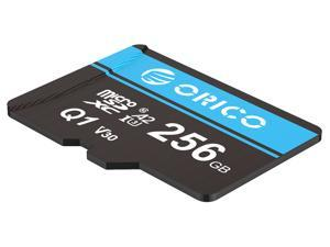 ORICO Ultra 256GB Micro SD Card Class 10 Memory Card with Adapter, Speed Up to 80MB/s