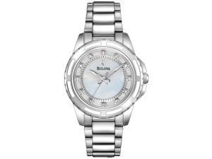 Bulova Womens Diamond 96P144 Watch