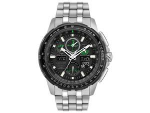 Citizen Skyhawk A-T Mens Chronograph Eco-Drive Stainless Steel Watch JY8051-59E