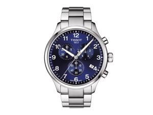 Tissot T116.617.11.047.01 Chrono XL Men's Watch Silver 45mm Stainless Steel