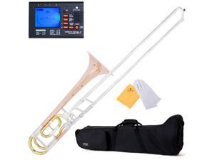 MTB-33 Intermediate B Flat Trombone with F Trigger + Tuner, Case, Mouthpiece & Accessories