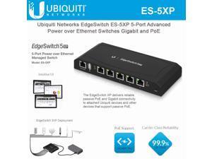 Ubiquiti EdgeSwitch XP 5 Gigabit 24V PoE Ethernet Switch - ES-5XP