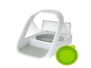 SureFlap Surefeed Microchip Pet Feeder MPF001 + FREE TRAVEL BOWL - Uses Microchip or Collar Tag