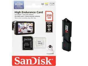 SanDisk High Endurance 256GB MicroSD XC Memory Card UHS-I for Samsung Galaxy S8 S9 S10 PLUS + S10e USB 3.0 MemoryMarket Dual Slot MicroSD & SD Memory Card Reader