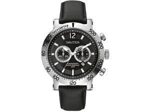 Nautica Windjammer N20096G Men's Black Dial Quartz Chronograph Watch
