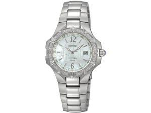 Seiko Coutura Diamonds Mother-of-pearl Dial Women's watch #SXDC33