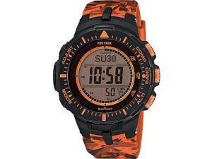 Men's Casio Pro Trek Solar Power Triple Sensor Watch PRG300CM-4