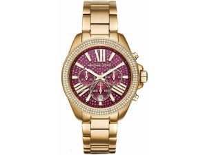 Women's Michael Kors Wren Chronograph Glitz Watch MK6290